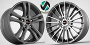 Llantas Mak Venti y Zenith modelo 3d