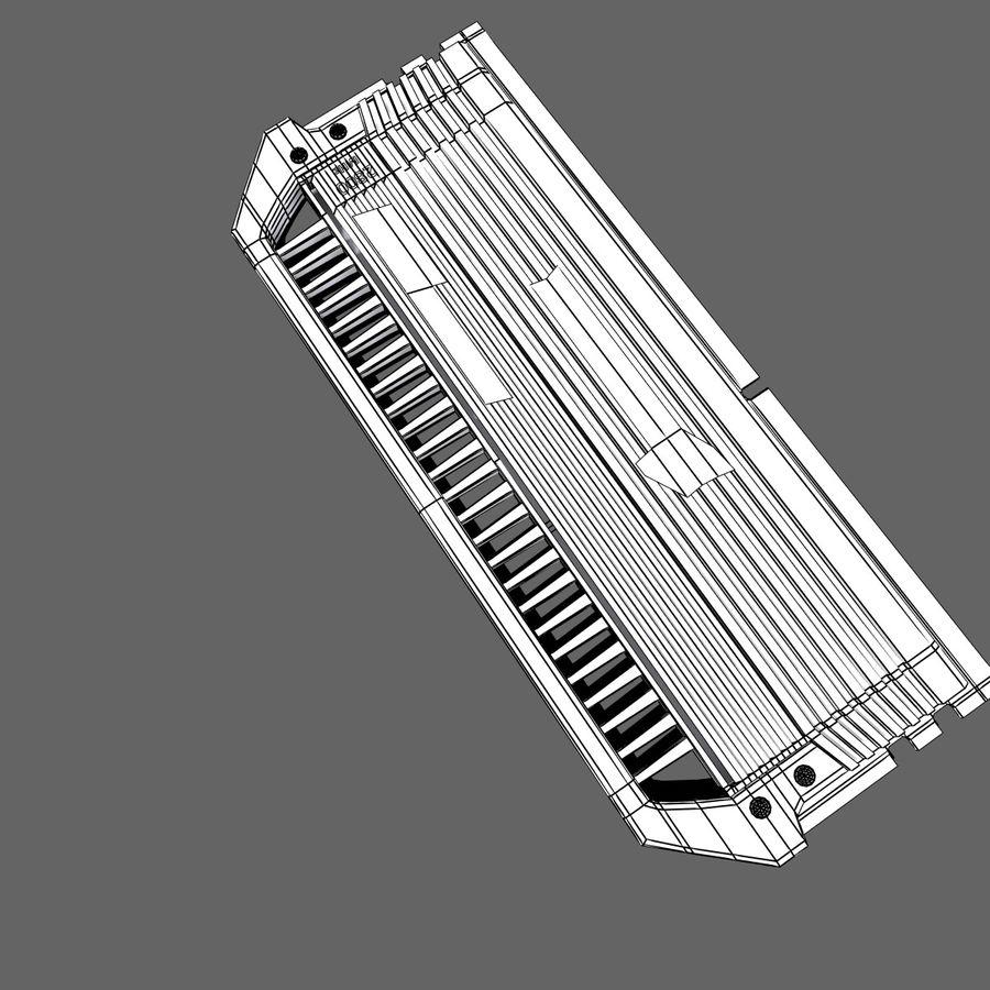 RAM Corsair royalty-free 3d model - Preview no. 14