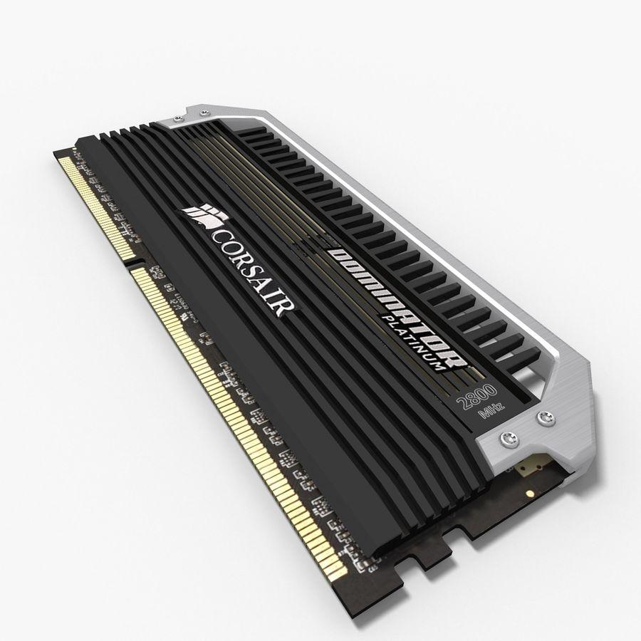 RAM Corsair royalty-free 3d model - Preview no. 6