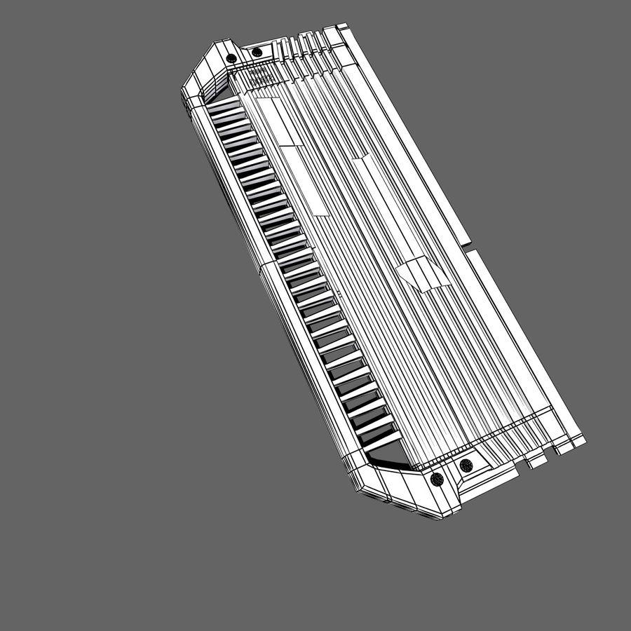 RAM Corsair royalty-free 3d model - Preview no. 11