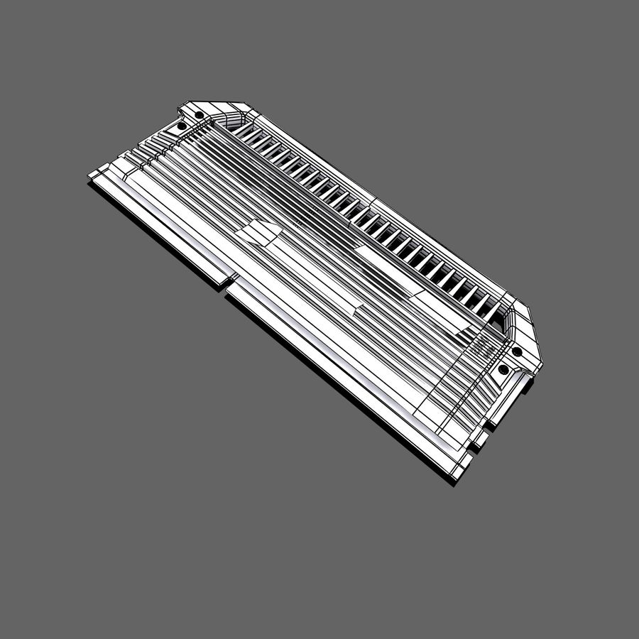 RAM Corsair royalty-free 3d model - Preview no. 12