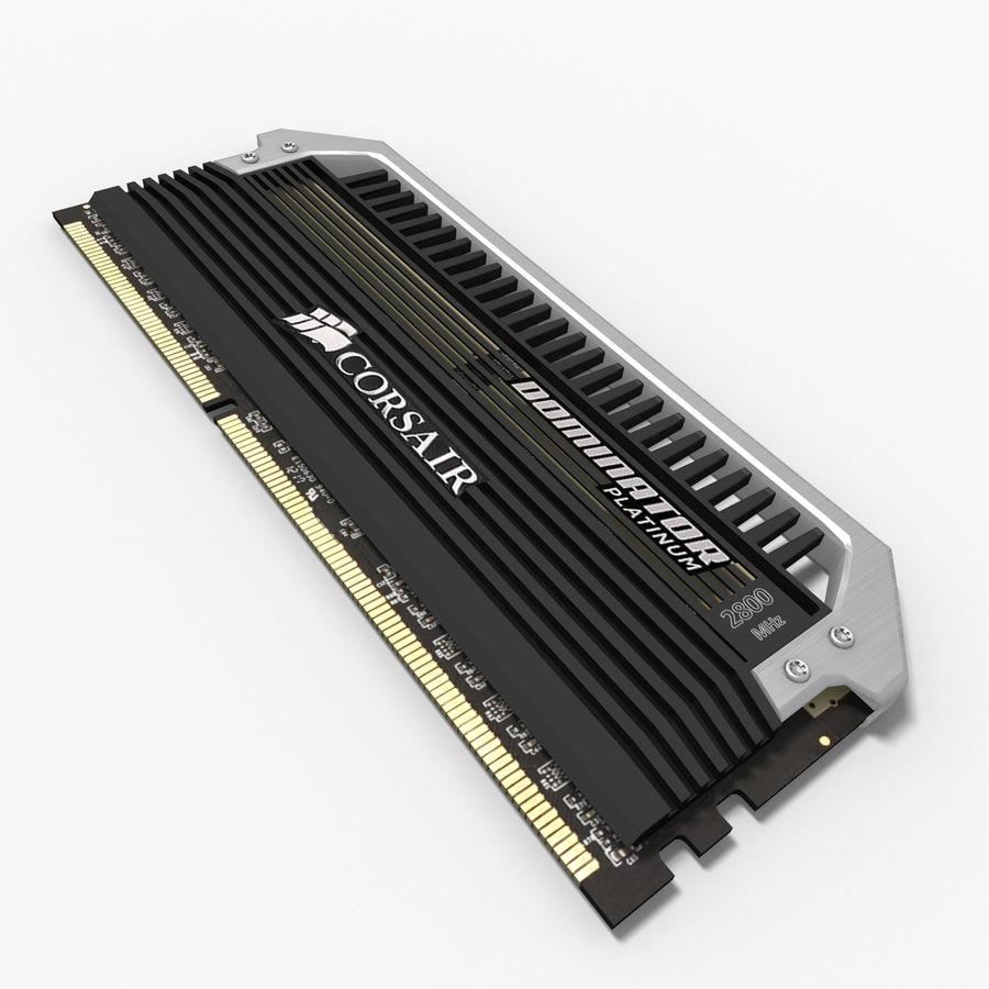 RAM Corsair royalty-free 3d model - Preview no. 2