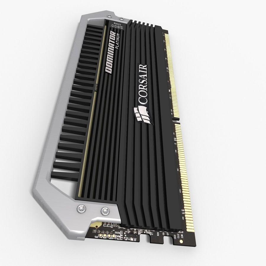 RAM Corsair royalty-free 3d model - Preview no. 3