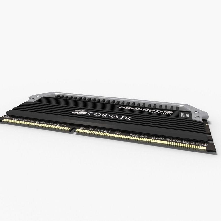 RAM Corsair royalty-free 3d model - Preview no. 7