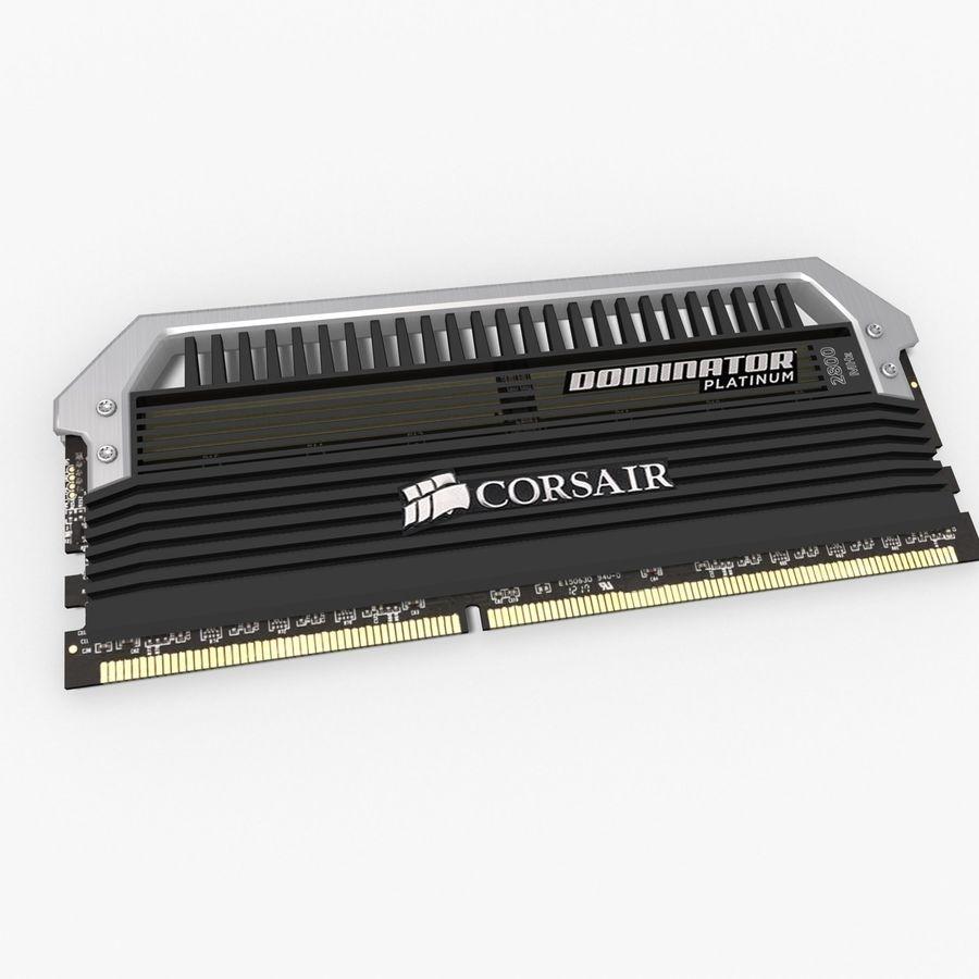 RAM Corsair royalty-free 3d model - Preview no. 5