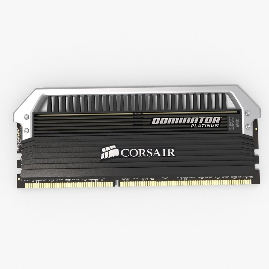 RAM Corsair royalty-free 3d model - Preview no. 8