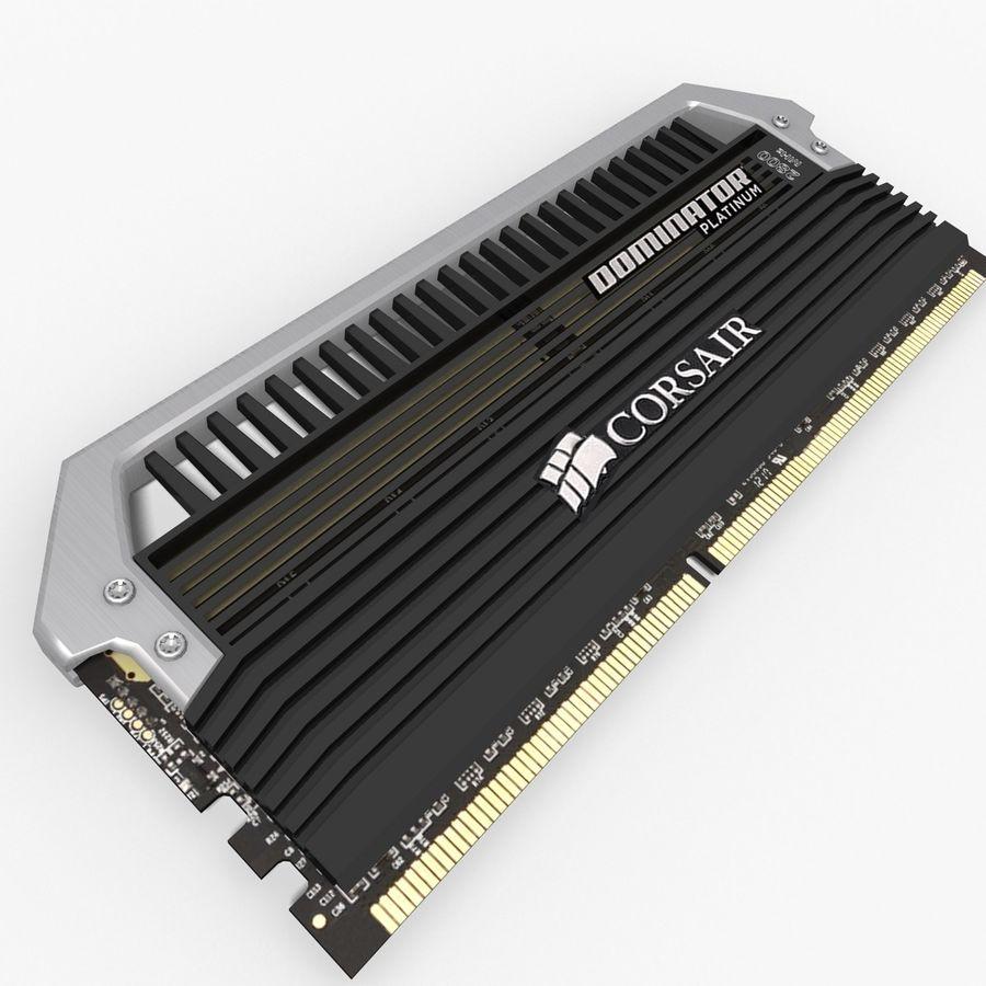 RAM Corsair royalty-free 3d model - Preview no. 4