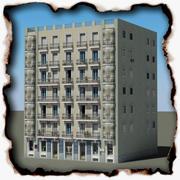 Budynek 82 3d model