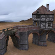 Norsca Bridge 3d model