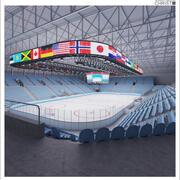 冰球竞技场II 3d model