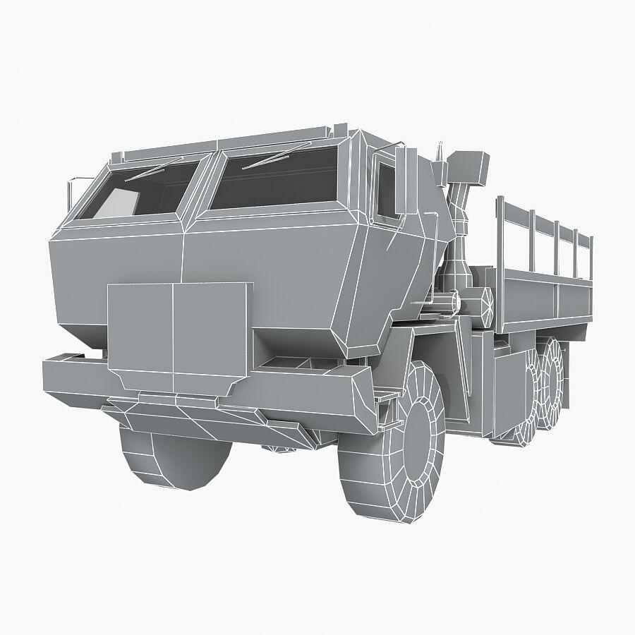 ВОЕННЫЙ АВТОМОБИЛЬ M1078 ГРУЗ royalty-free 3d model - Preview no. 24