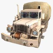 Militärische LKW-Wüste 3d model