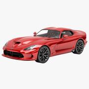 Dodge SRT Viper 2013 3d model
