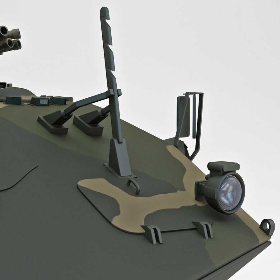 Armored Fighting Vehicle AVGP Grizzly royalty-free 3d model - Preview no. 21