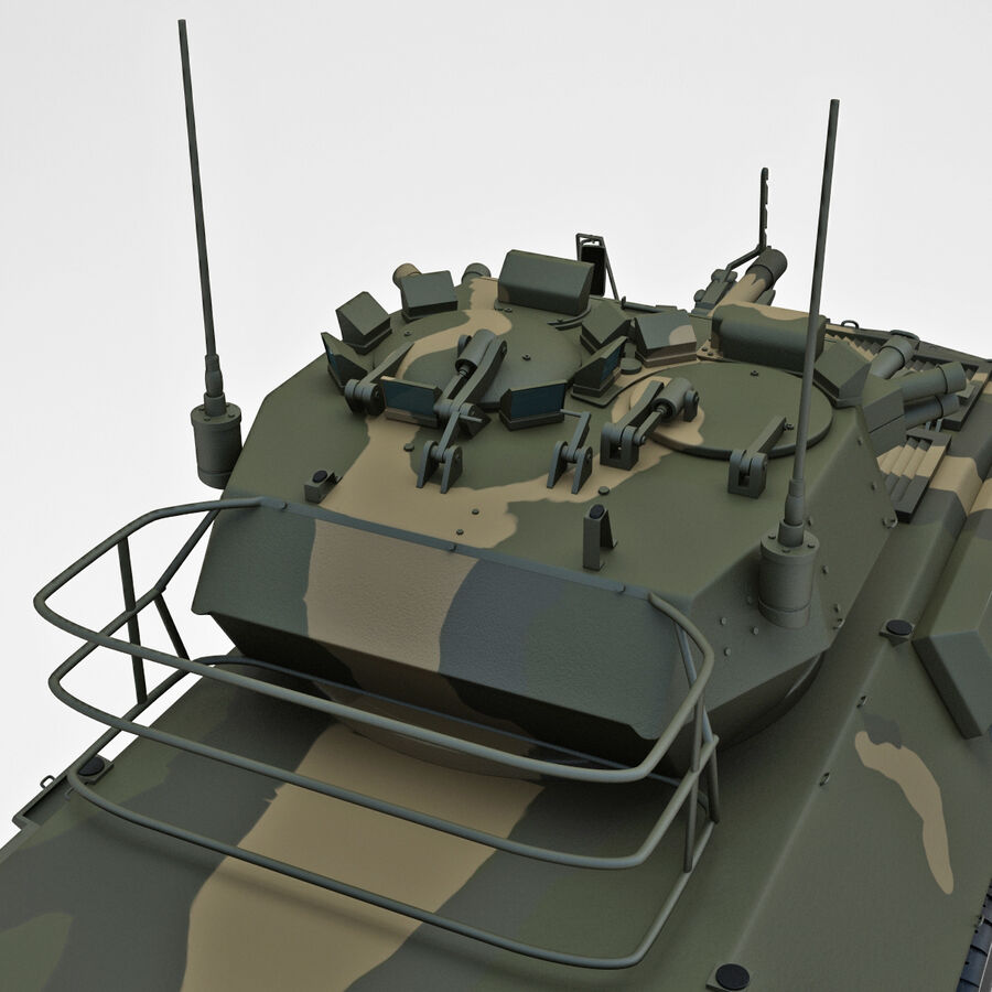 Armored Fighting Vehicle AVGP Grizzly royalty-free 3d model - Preview no. 24