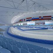 速滑竞技场 3d model