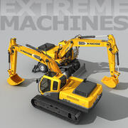 Extreme Machines 3d model
