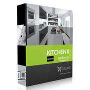 CGAxis Model Volume 33 Kitchen Appliances II MentalRay 3d model