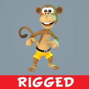 猴 3d model