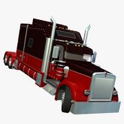 Kenworth W900 DROM 3d model