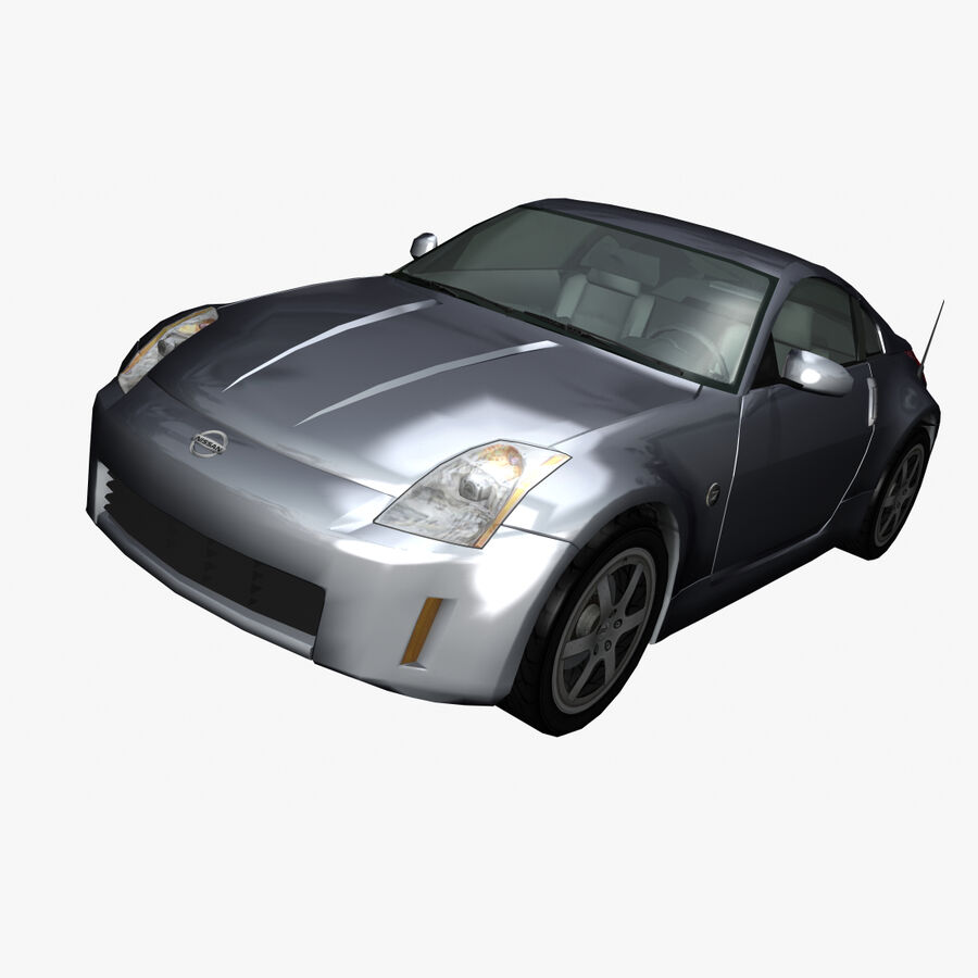 Nissan 350Z royalty-free 3d model - Preview no. 1