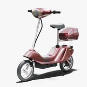 Elektrische scooter 3d model