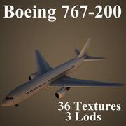 B762 3d model