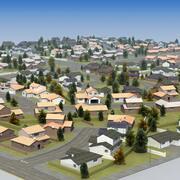 RT Housing Development 3d model