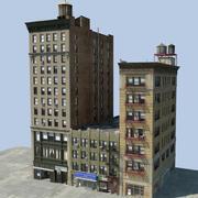 ニューヨークの建物 3d model