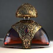 Бутылка Коньяка 3d model