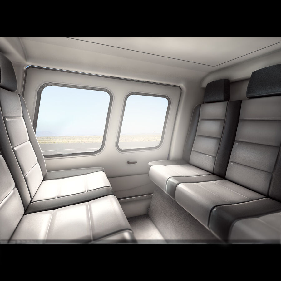 Agusta AW 109 Helikopter royalty-free 3d model - Preview no. 6