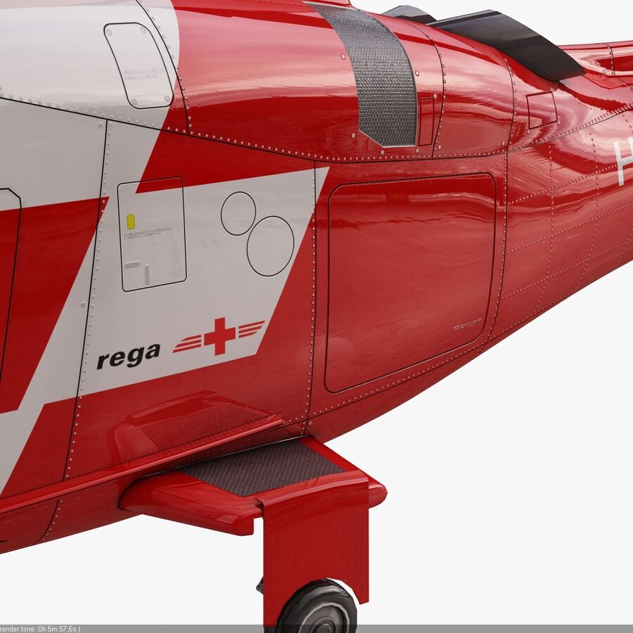 Agusta AW 109 Acil royalty-free 3d model - Preview no. 13