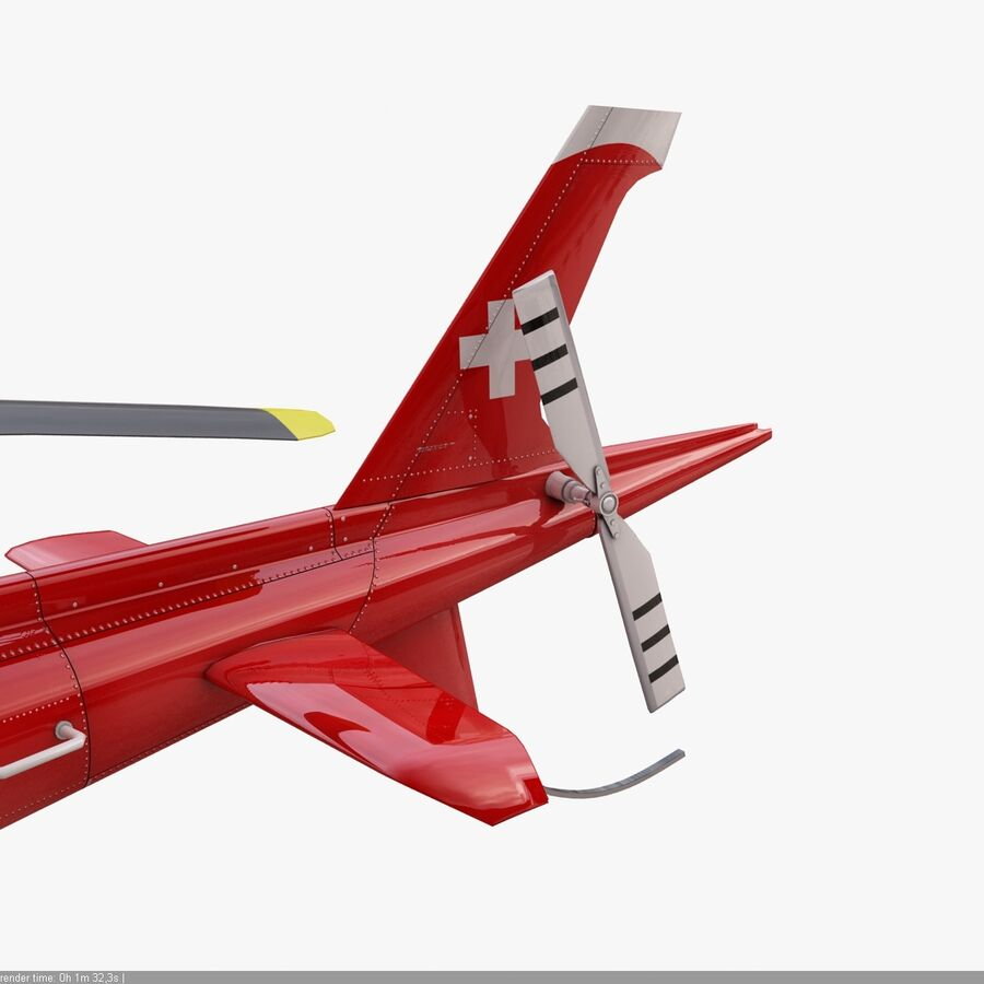 Agusta AW 109 Acil royalty-free 3d model - Preview no. 12