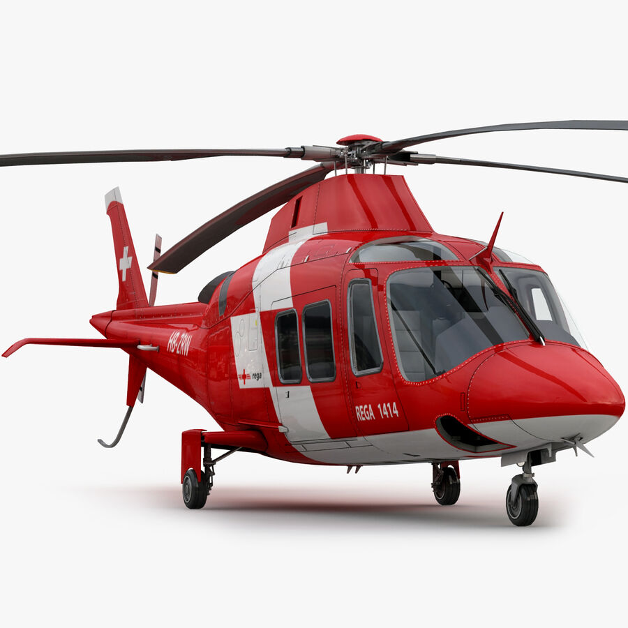 Agusta AW 109 Acil royalty-free 3d model - Preview no. 1