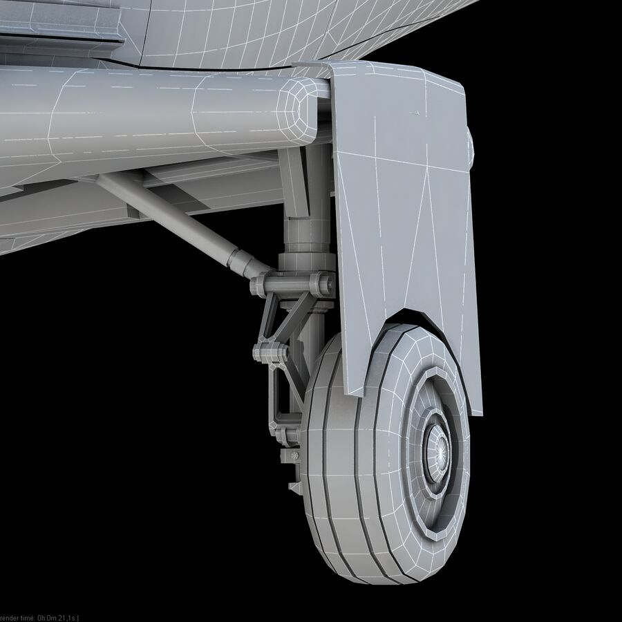 Agusta AW 109 Acil royalty-free 3d model - Preview no. 20