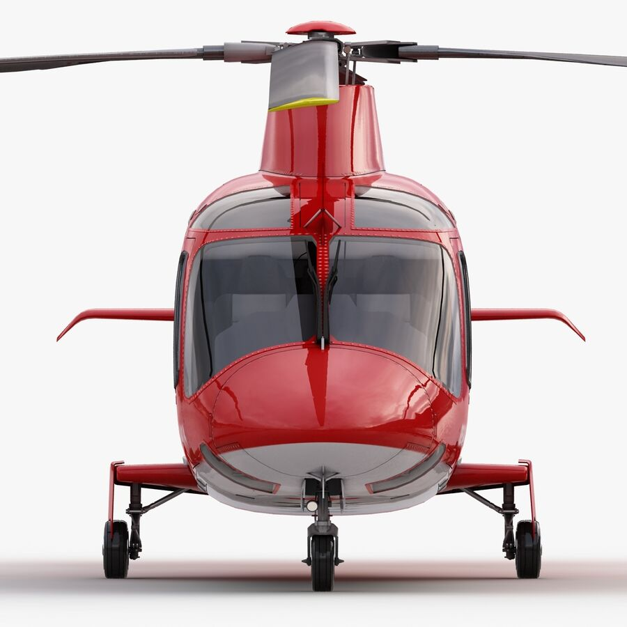 Agusta AW 109 Acil royalty-free 3d model - Preview no. 14