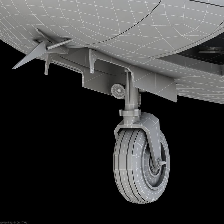 Agusta AW 109 Acil royalty-free 3d model - Preview no. 21