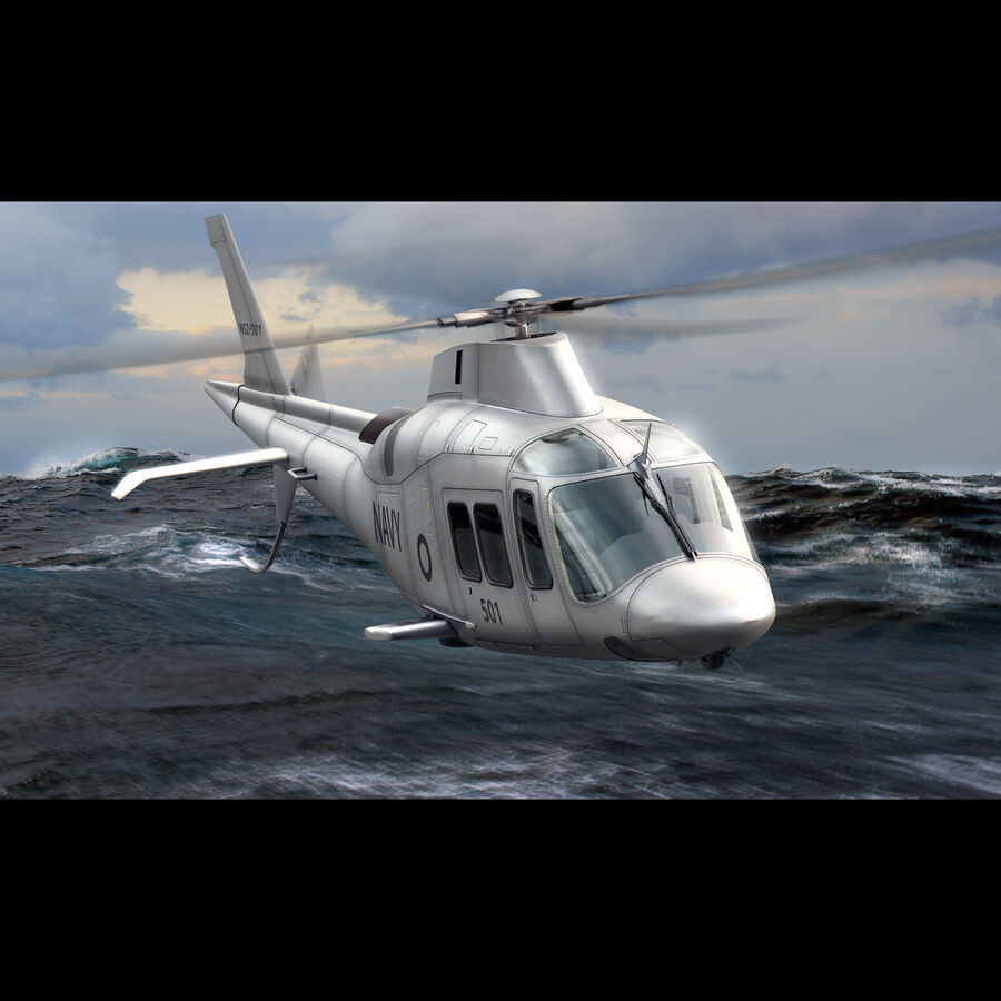 Agusta Westland 109 Grand royalty-free 3d model - Preview no. 4