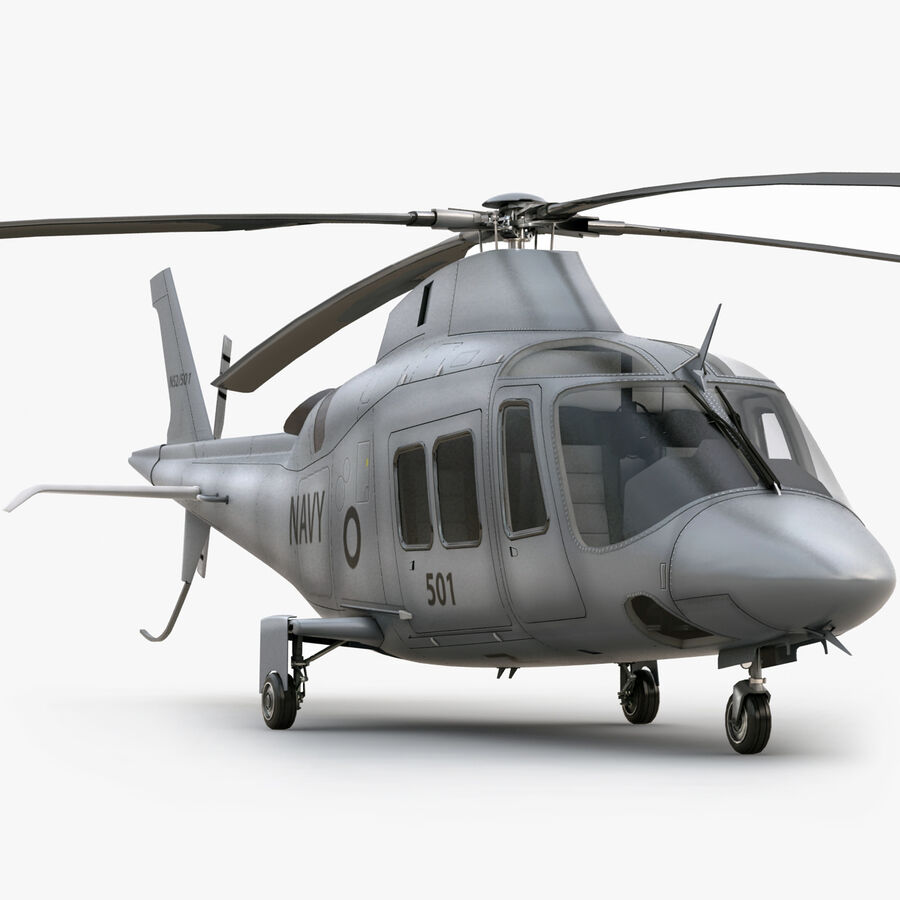 Agusta Westland 109 Grand royalty-free 3d model - Preview no. 1