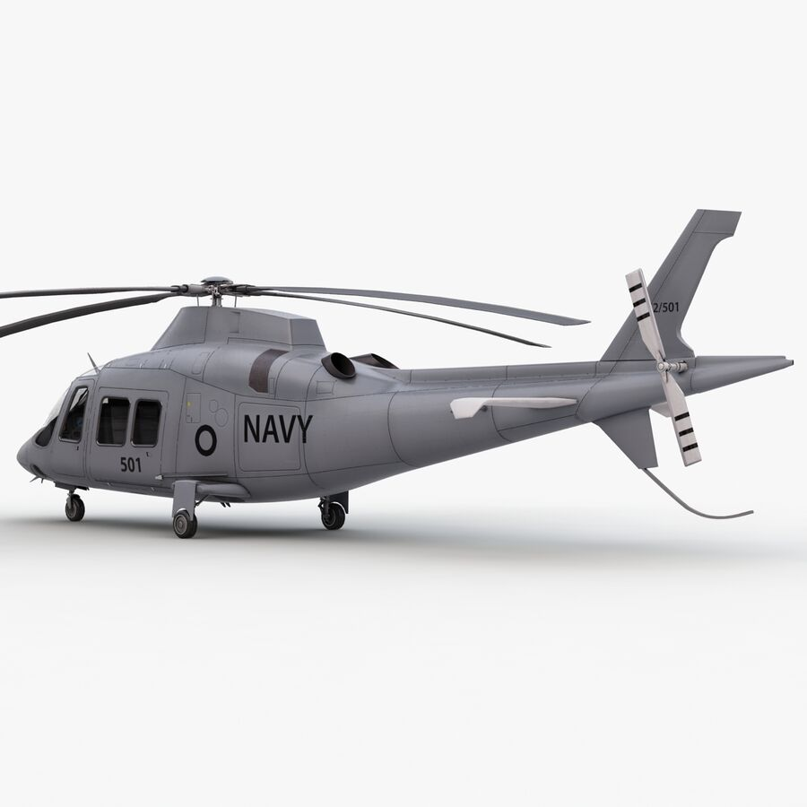 Agusta Westland 109 Grand royalty-free 3d model - Preview no. 15