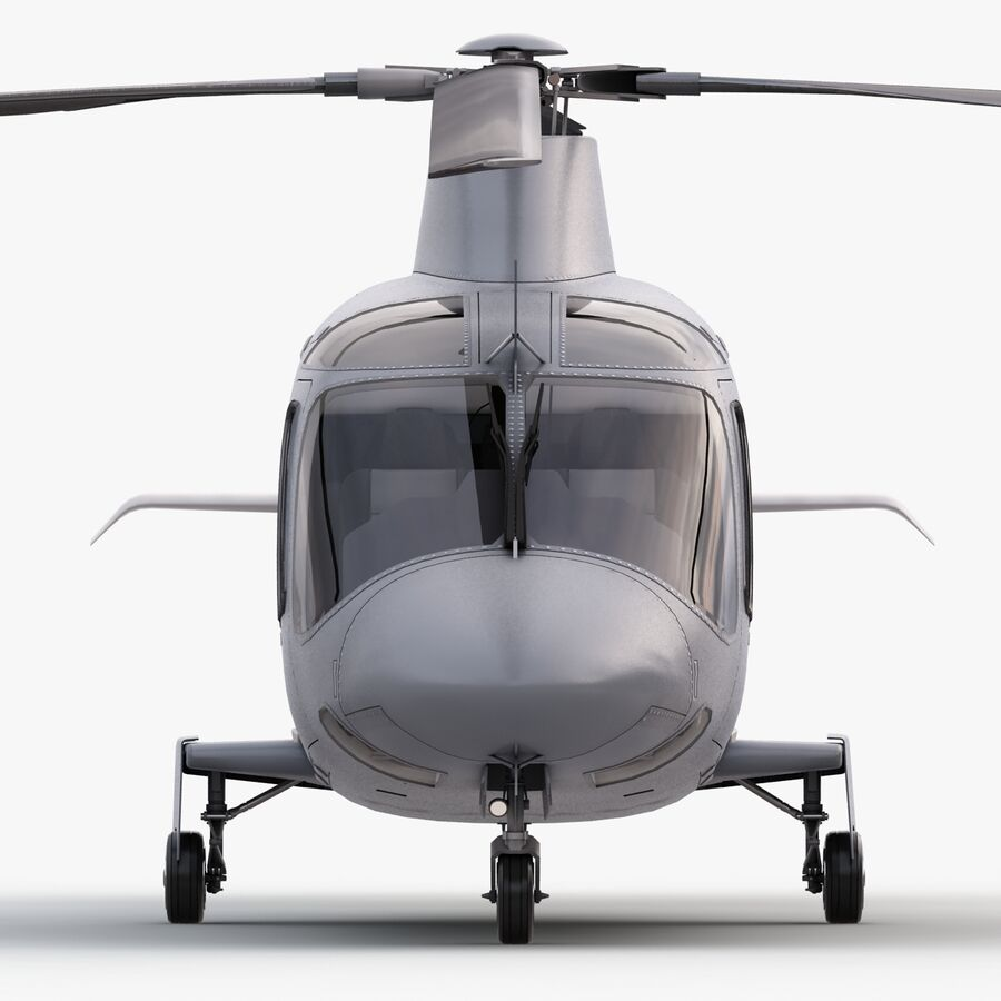 Agusta Westland 109 Grand royalty-free 3d model - Preview no. 8