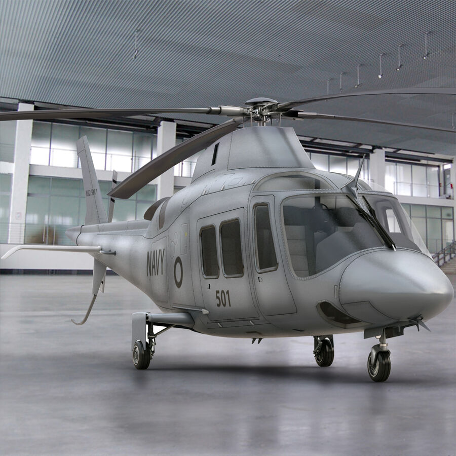 Agusta Westland 109 Grand royalty-free 3d model - Preview no. 2