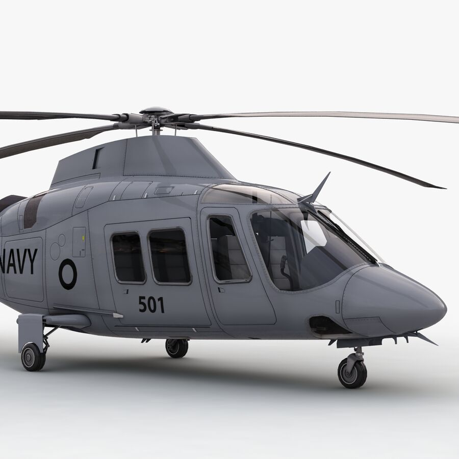 Agusta Westland 109 Grand royalty-free 3d model - Preview no. 10