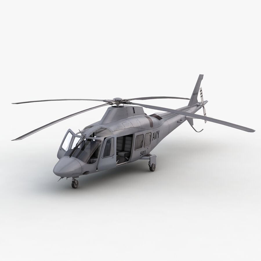 Agusta Westland 109 Grand royalty-free 3d model - Preview no. 14