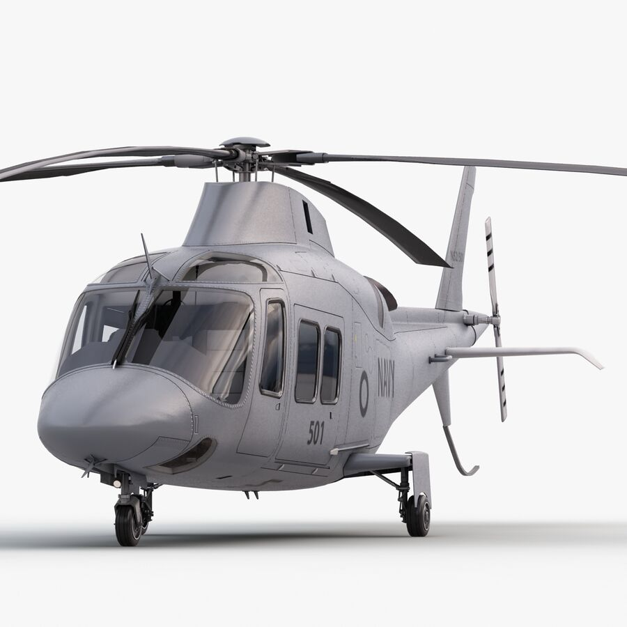 Agusta Westland 109 Grand royalty-free 3d model - Preview no. 9