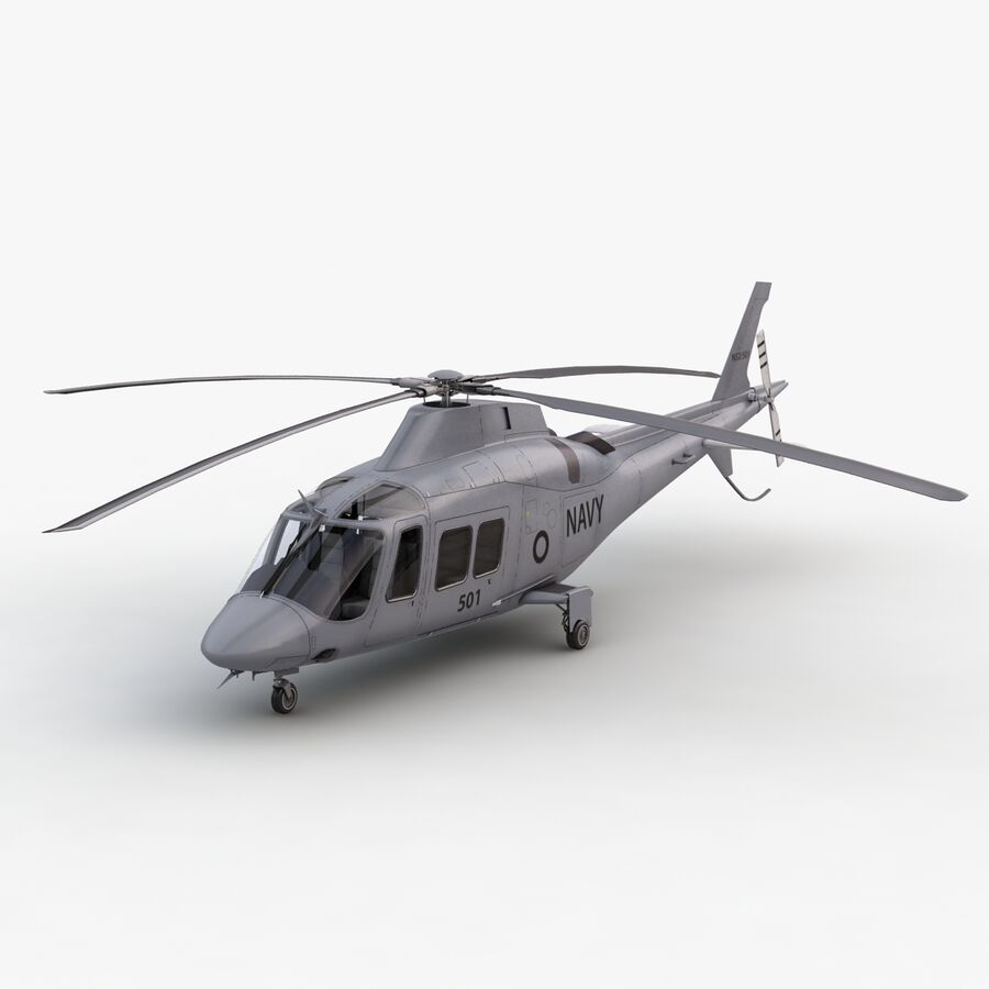 Agusta Westland 109 Grand royalty-free 3d model - Preview no. 13