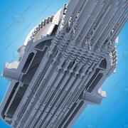 Pressurized Water Reactor (PWR) 3d model