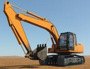 Escavadeira A 3d model