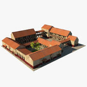 ギリシャの家 3d model