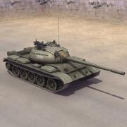 T-55A Soviet MBT 3d model